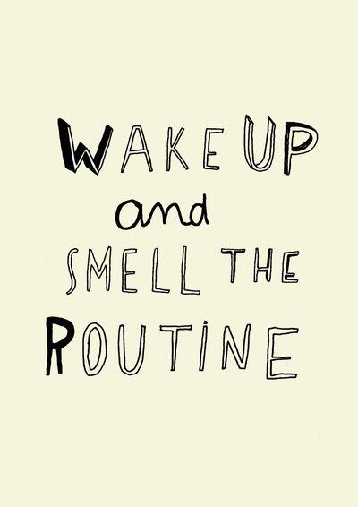 WAKE UP  by WASTED RITA