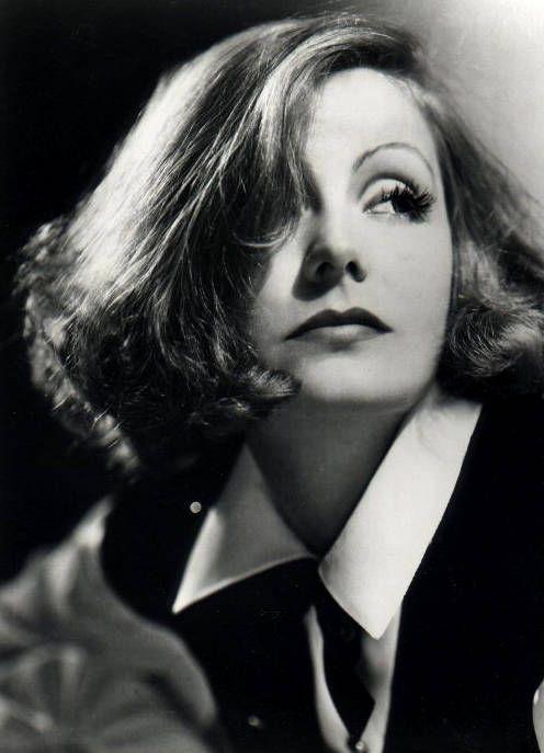Actrices como Greta Garbo son iconos de referentes de moda.