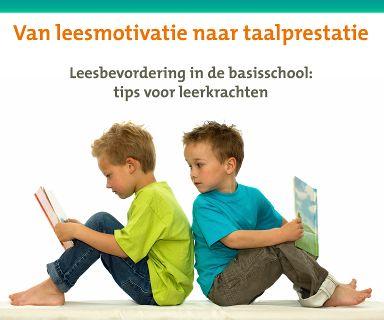 Onderzoek naar leesbevordering op school, met veel info over verschillende werkvormen om lezen in de klas leuker te maken. Ook goede, enthousiasmerende websites en apps zijn in deze brochure te vinden.