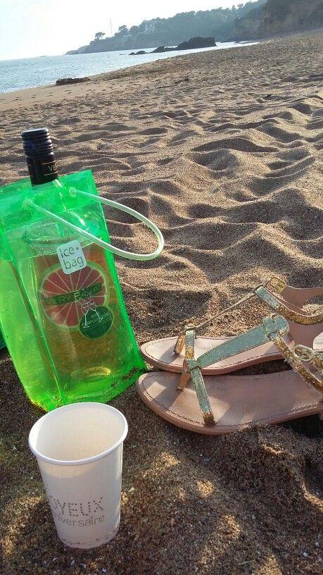 Anniversaire sur la plage !