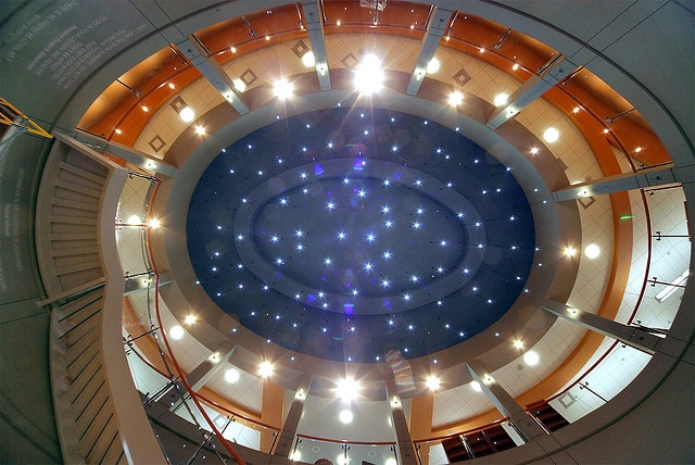 Starry Night Ceiling at the Rockville Library by Montgomery County Public Libraries, MD, via Flickr