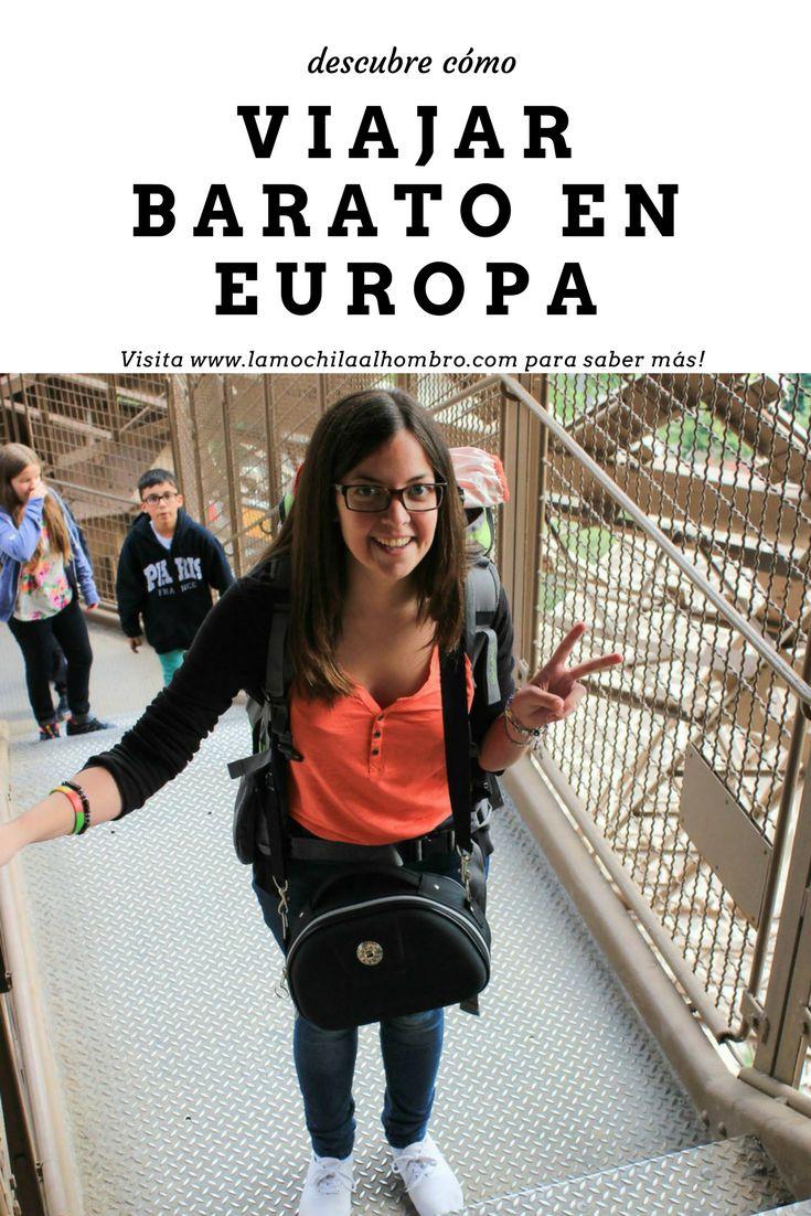 Descubre cómo viajar barato, seguro y flexible por toda Europa. #interrail #mochilero #viajar #barato #tren