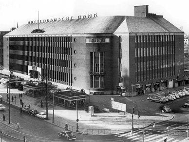 rotterdamse bank, later de ABNAMRO, nu Donner aan de Coolsingel