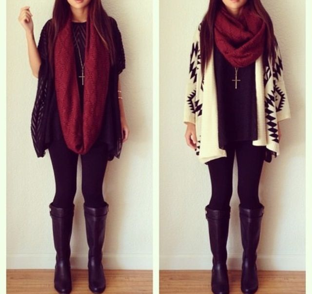 Cute Winter Outfits Fall Winter Fashion Pinterest Winter Fashion Long Cardigan And