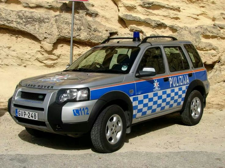 Police car from malta..