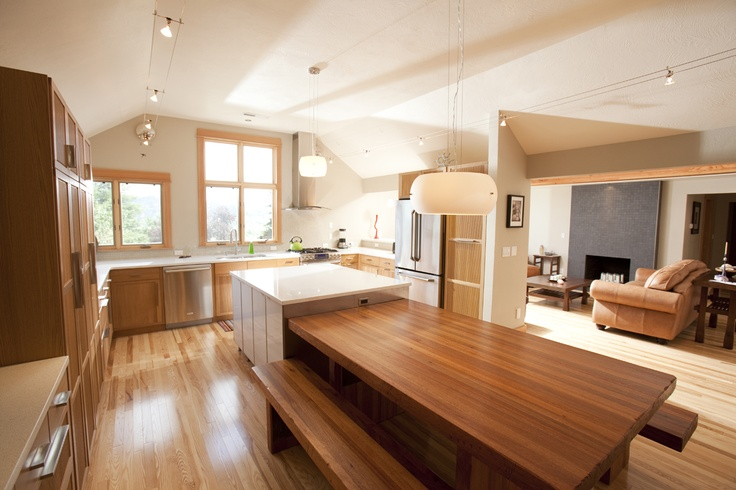 Fabulous dining area...Are Your Kitchen's Work Zones Working?