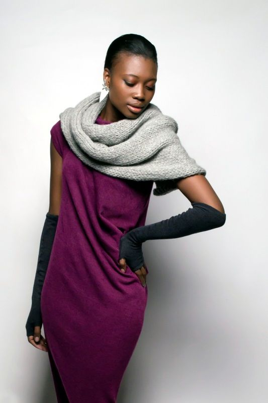 SIES!isabelle Winter 14 Jo dress with alpaca scarf