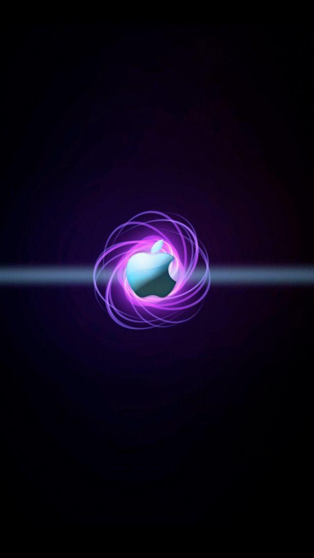 Nucleus Apple Logo iPhone 5s Wallpaper Download   iPhone Wallpapers, iPad wallpapers One-stop ...
