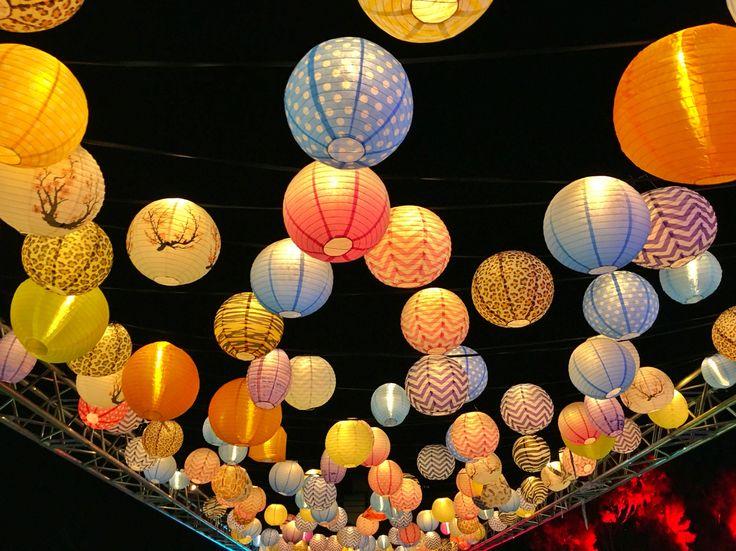 Lanterns, night noodle markets