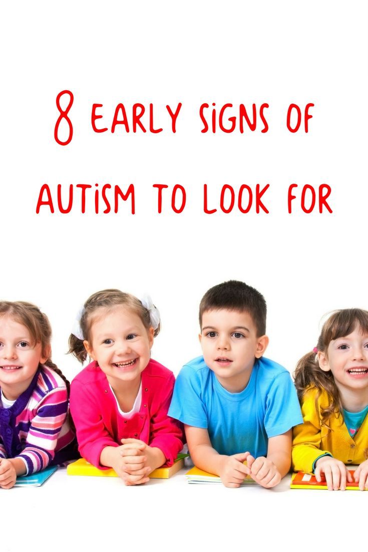 Image Result For Signs Of Autism