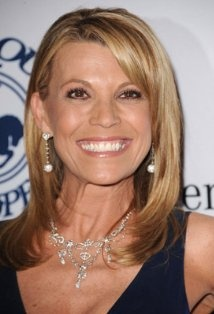 Vanna White (1957 - ) Famous for turning letters on television's Wheel of Fortune. Born in North Myrtle Beach, SC .