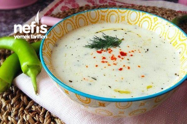 Nefis Yoğurt Çorbası (Harika Lezzet)