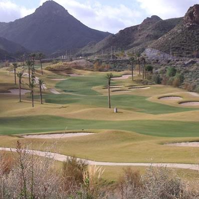 Aguilon golf course Pulpi Almeria Spain
