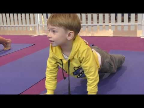 Chldren Yoga at Westfield Shopping centre  We Won a prise!