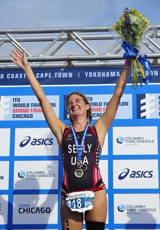 ALLYSA SEELY: ON THE ROAD TO RIO  Story of a Paralympian with Ehlers-Danlos syndrome (EDS).
