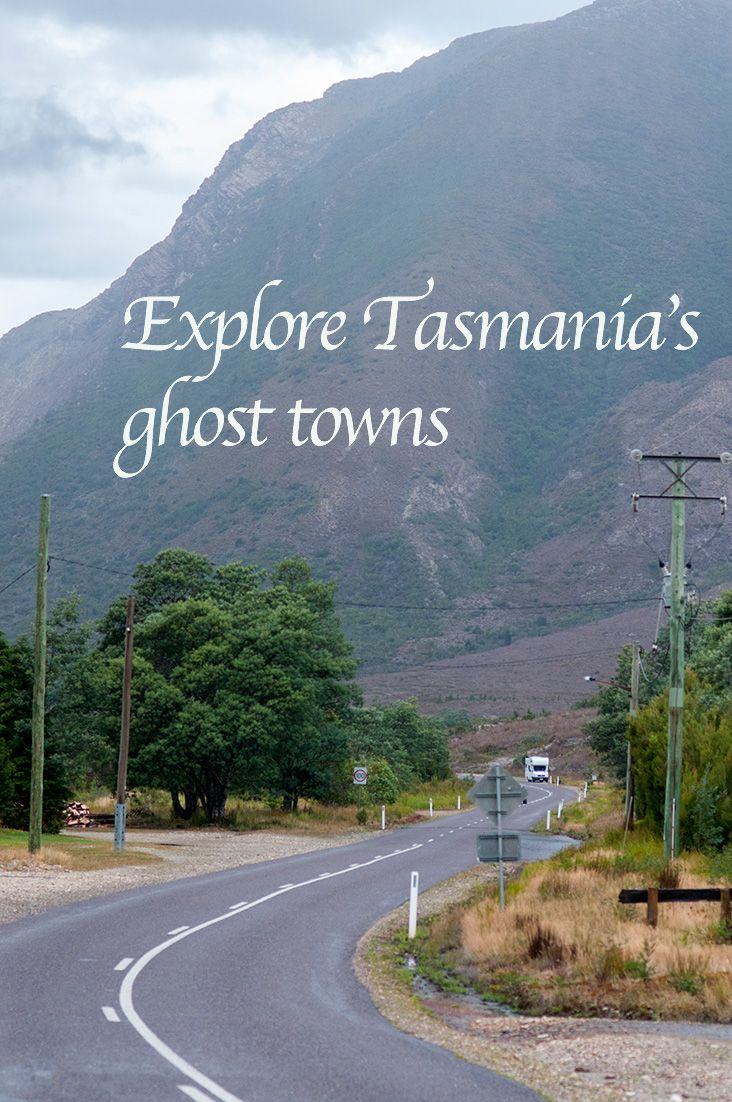 Linda is one of Tasmania's most mysterious ghost towns