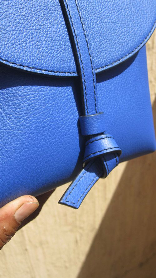 Cobalt Little Stella, Chiaroscuro, India, Pure Leather, Handbag, Bag, Workshop Made, Leather, Bags, Handmade, Artisanal, Leather Work, Leather Workshop, Fashion, Women's Fashion, Women's Accessories, Accessories, Handcrafted, Made In India, Chiaroscuro Bags - 11