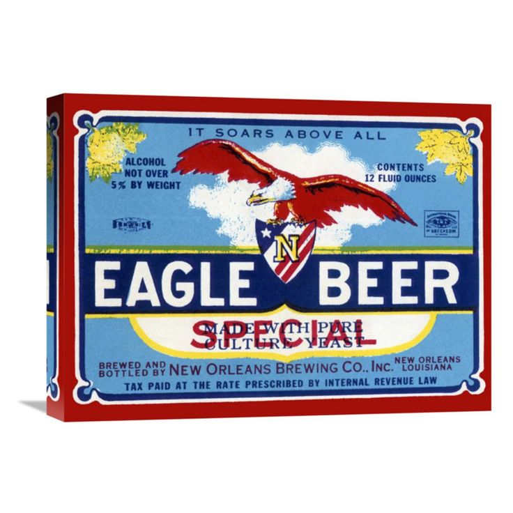 Global Gallery Eagle Beer Special Wall Art - GCS-375104-22-142