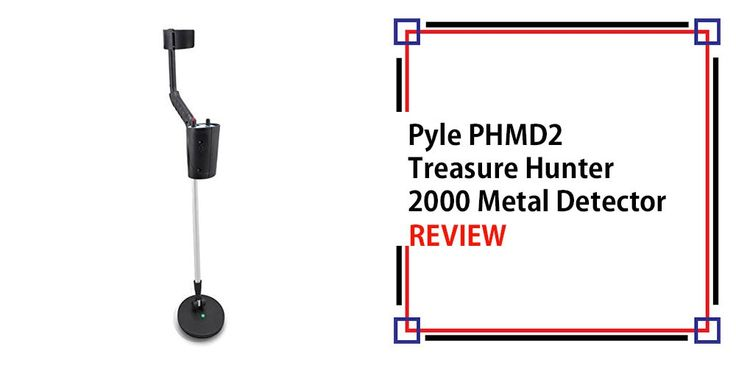 Pyle PHMD2 Treasure Hunter 2000 Metal Detector Review