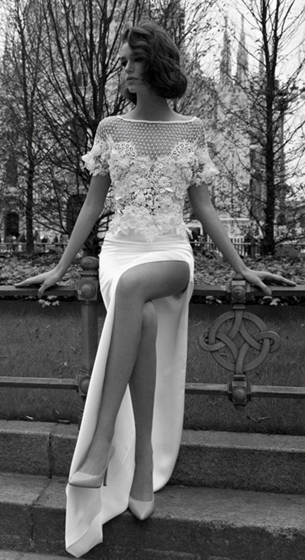 Liz Martinez Bridal Collection - Milan 2015. .... Opino q para una ceremonia civil es muy apropiado. Denise.