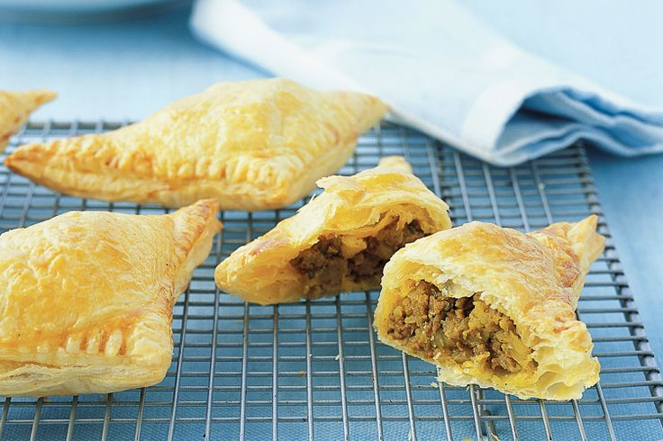 These spicy triangle pastries, reminiscent of an Indian samosa, make great party snacks.