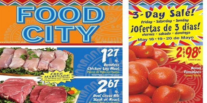Food City Weekly Ad 516 To 522 2018 3 Day Sale Food City Weekly