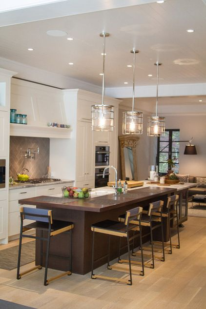 Transitional Kitchen by C. Raymond Davis & Sons