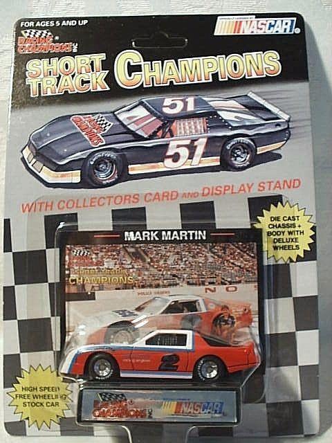 Very Rare 1993 Racing Champions #2 Mark Martin RECO Inc. Camaro Short Track 1:64 #RacingChampions #Chevrolet