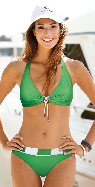 Lidea 2014 Nautic Journey Green Halter Bikini | Southbeachswimsuits