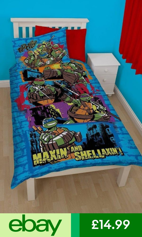 Teenage Mutant Ninja Turtles Bedding Sets & Duvet Covers