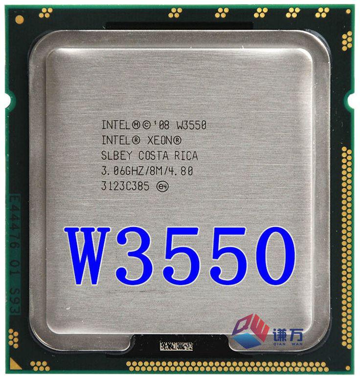 lntel Xeon W3550 Quad Core 3.06GHz TDP 130W 8MB Cache LGA 1366 CPU processor