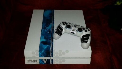 My ps4 limited edition destiny