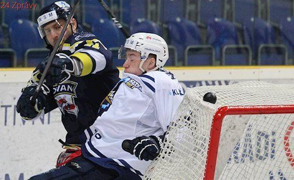 První liga: Hokejisté Budějovic, Kladna a Slavie jsou v semifinále