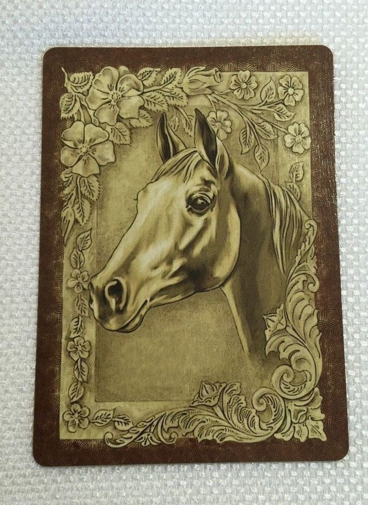 Horse breeds playing cards for sale by #Proverbial Horse  http://www.ebay.com/usr/theproverbialhorse