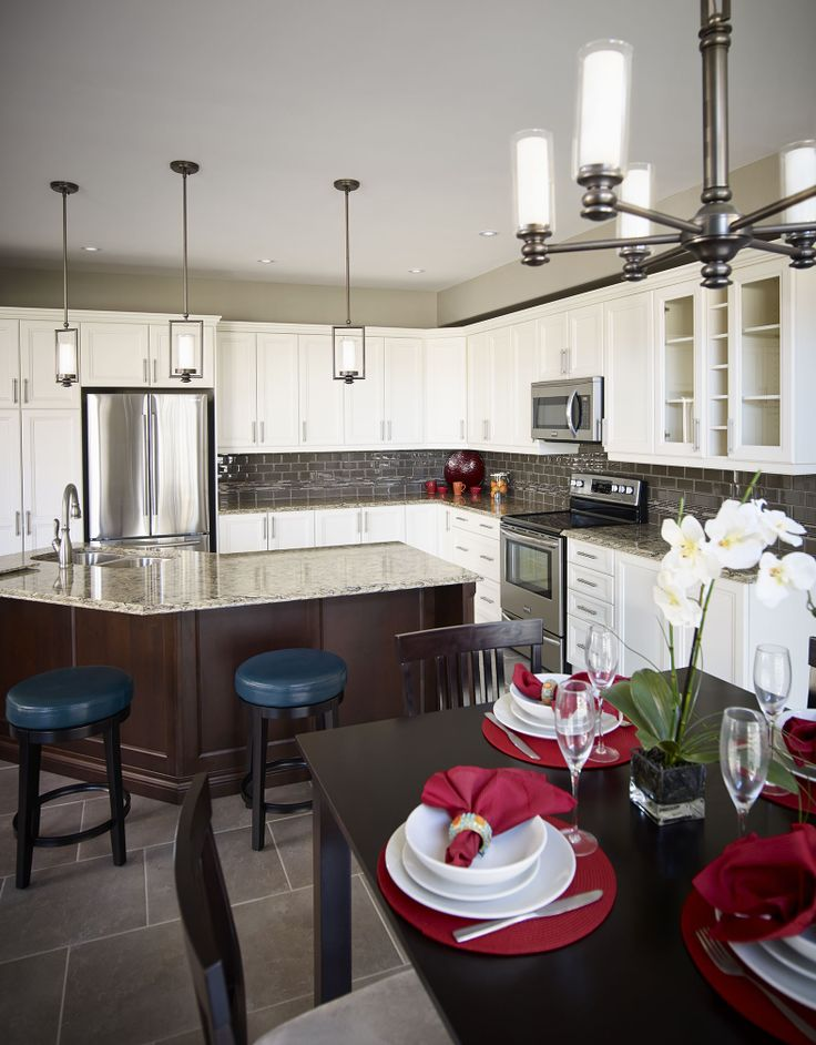 Have the option to choose the details for your dream kitchen.