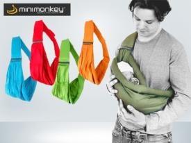 Lleva a tu pequeño cerca del corazón y no solo en sentido figurado con este portabebés. Si la naturaleza ha dotado a algunos animales de una bolsa en la que transportar a sus crias, ¿por qué no llevar a tu bebé calentito contra tu pecho? Tranquilo, calentito y seguro, así irá tu bebé en este portabebés mini monkey que te traen los cupones descuento de CaripenDeal.