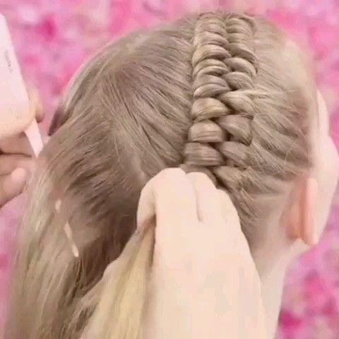 Braid Hairstyle for Cute Girl