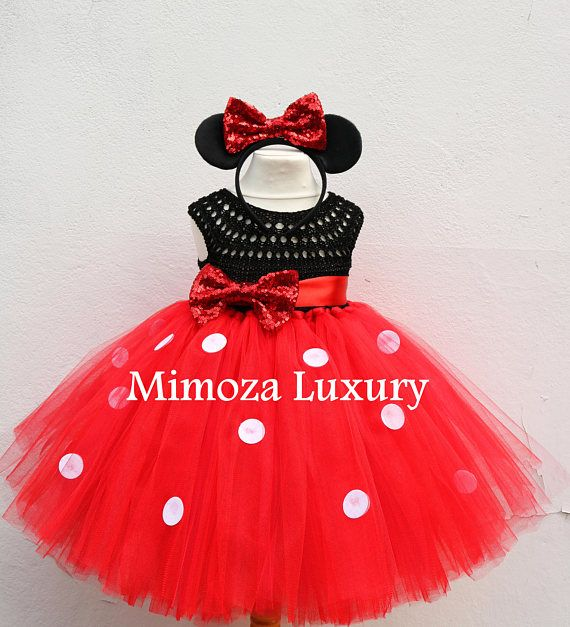 Mickey mouse dress mickey mouse birthday dress Flower girl