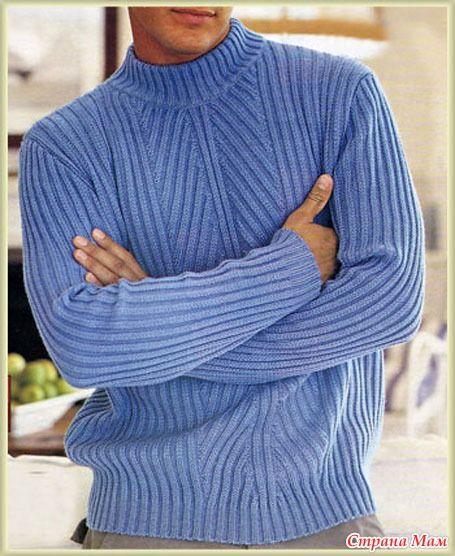 Мужские пуловеры ( спицы) - Страна Мам