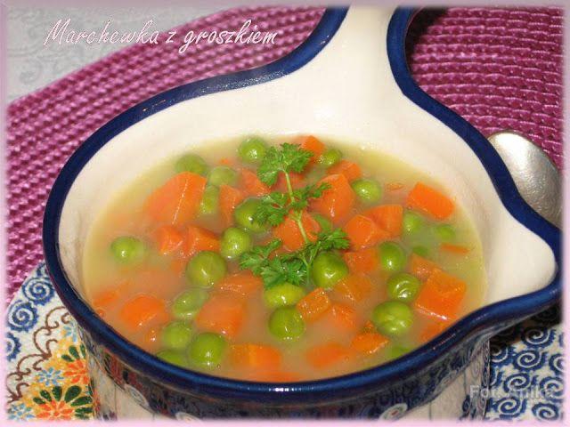 Marchewka z groszkiem              Marchewka z groszkiem to smaczna potrawka warzywna, która wyśmienicie pasuje do różnego rodzaju dań ...