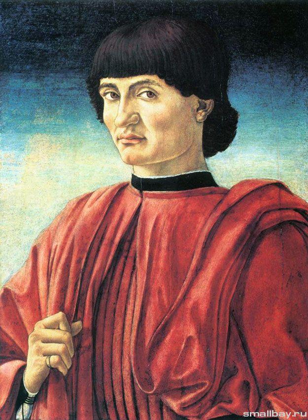 Портрет сеньора, 1445-1447 Национальная галерея, Вашингтон.