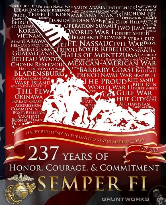 Happy birthday Marines.