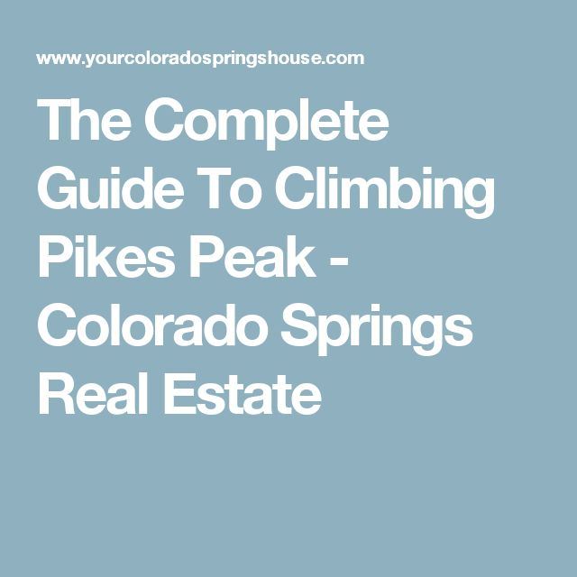 Most Haunted Places In Colorado Springs: 1000+ Ideas About Pikes Peak On Pinterest