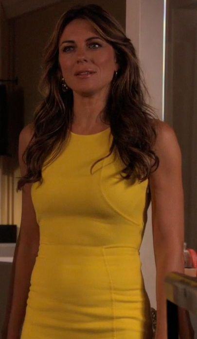 Diana Paynes Yellow Dress from Gossip Girl: Memoirs Of An Invisible Dan #ShopTheShows #curvio