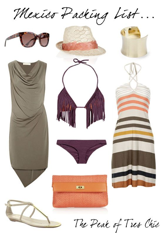 The Peak of Tres Chic: Playa Packing List
