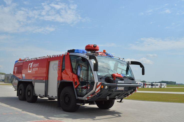 Radom Airport (EPRA) Rosenbauer Panther
