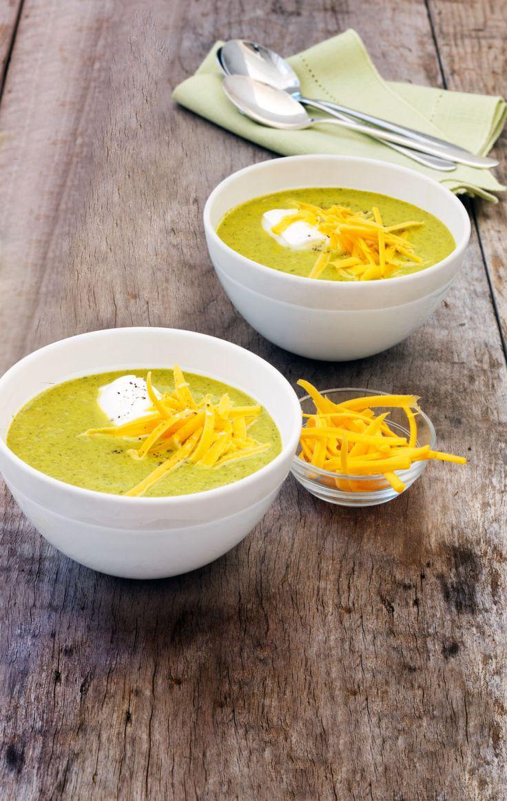 Roasted Broccoli Soup - WomansDay.com