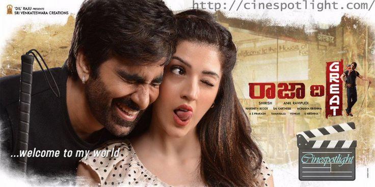Movie: #Raja the #Great #Telugu #Action #Movie #Trailer Language: Telugu Genre: Action Release Date: 12 October 2017 Producer: Dil Raju Stars: Ravi Teja & Mehrene Kaur Pirzada Movie Trailer Link below http://cinespotlight.com/raja-great-telugu-action-movie-2017/