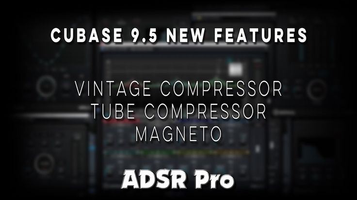 Steinberg Cubase 9.5 new plugin interface and mix controls
