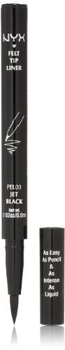 Nyx Cosmetics Pen Eyeliner - Jet Black